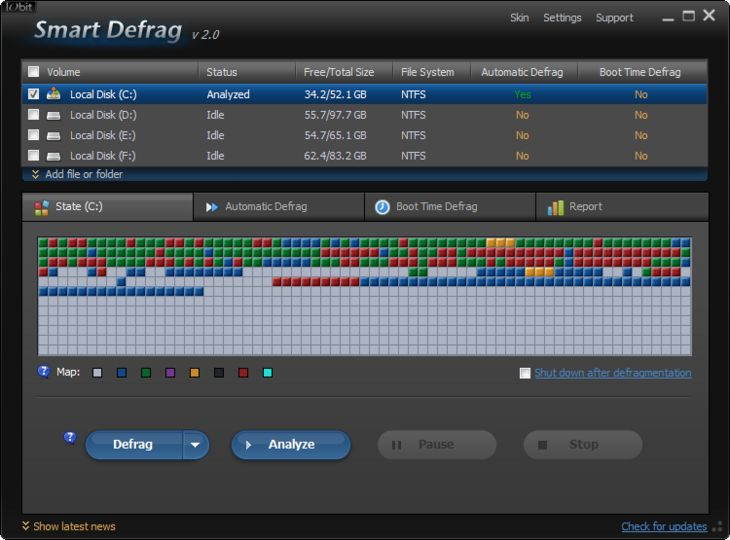 smart defrag 5.7 pro license key